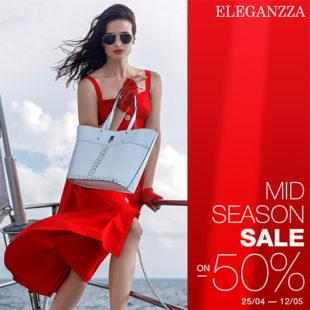 В ELEGANZZA Midseason Sale до -50%