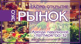"""Эко рынок в ТРК """"Центр"""""""